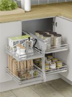 BLIND CORNER OPTIMISER (Innostor Plus) in 3 cabinet widths (ECF IP2BCO8/9/10)